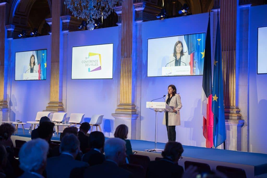 Conférence des villes 2019 avec influence factory